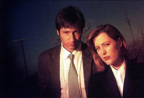 Mulder and Scully Promo Images