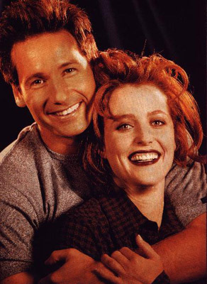 Mulder and Scully