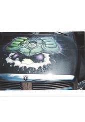My Incredible Hulk Truck 2004 Dodge Ram