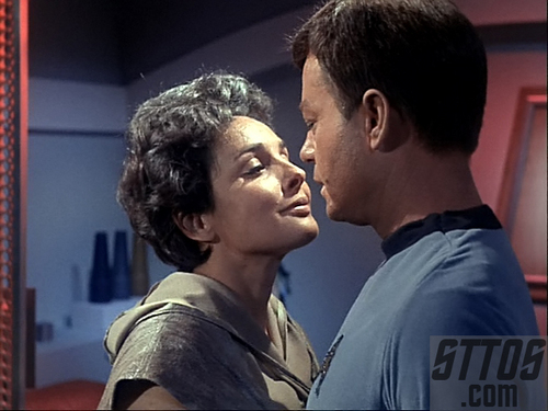 Star Trek Couples wallpaper titled Nancy Crater and Dr.McCoy
