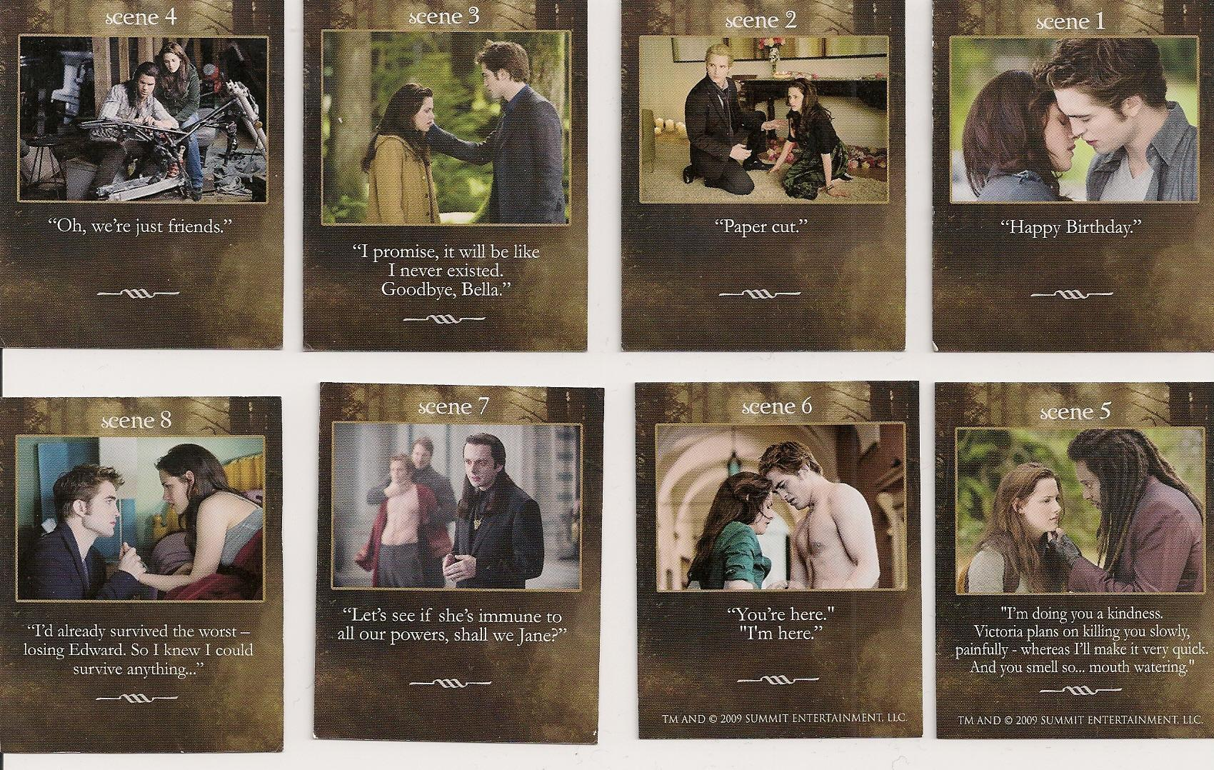 New Moon Game cards!
