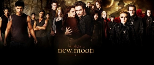New Moon Mega Cast Poster Larger size
