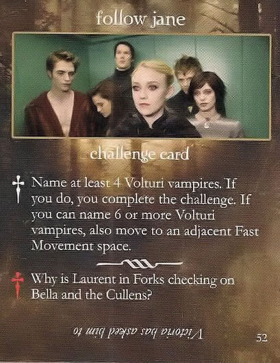 New Moon Scenes from NM Game Cards