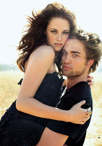 Robert Pattinson & Kristen Stewart 壁紙 possibly with a portrait entitled New, old, vanity fair photshoot