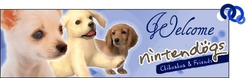 Nintendogs chihuahua & Friends banner