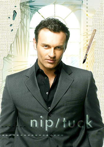Nip/Tuck wallpaper containing a business suit, a well dressed person, and a suit titled Nip/Tuck
