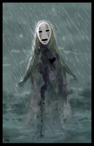Hayao Miyazaki fondo de pantalla called No Face