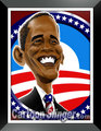 Obama Caricature - barack-obama fan art