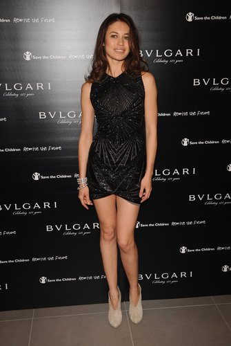Olga Kurylenko | Vogue/Bulgari Charity Reception