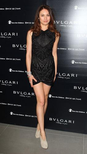 Olga Kurylenko | Vogue/Bulgari Charity Reception