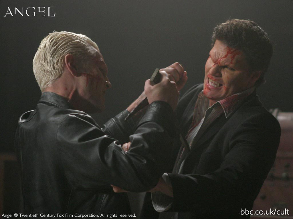 Angel vs Spike images PROMO SCAPS OF SEASON 5 HD wallpaper ...