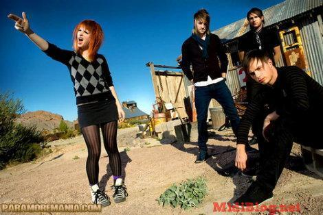 Paramore through the ages...