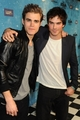 Paul & Ian at Scream 2009 - damon-and-stefan-salvatore photo