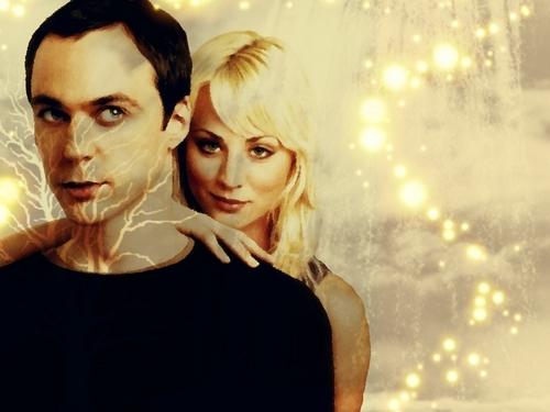 Penny/Sheldon fond d'écran