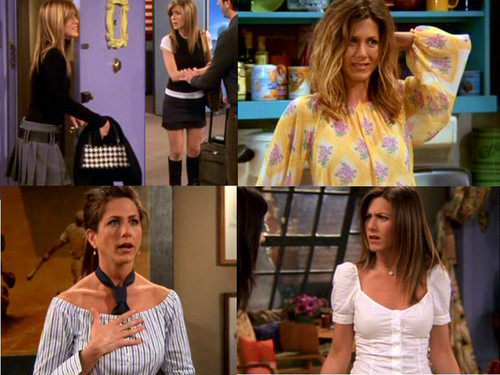 Friends images Rachel's Outfits wallpaper and background photos