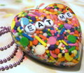 Real candy sprinkle necklace!