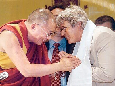 Richard Gere and the Dalai Lama