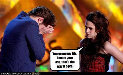 Rob & Kristen -funny caption
