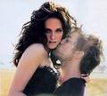 Rob and Kris kiss - twilight-series photo