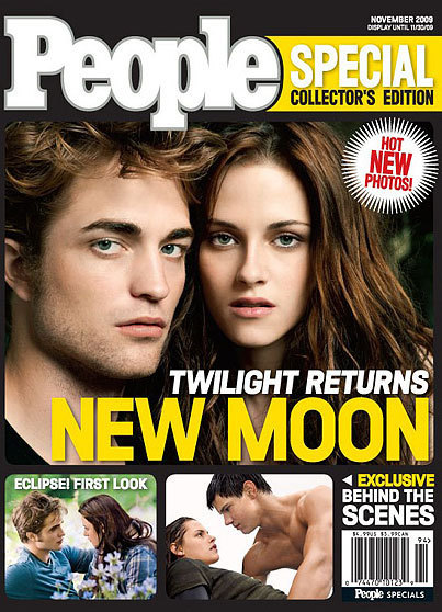 Robert Pattinson and Kristen Stewart Have 'People' Covered