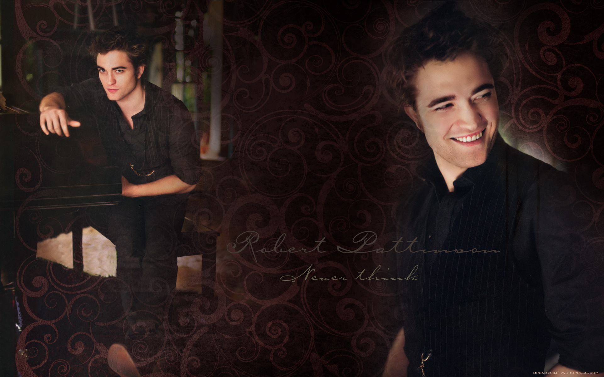 Robert Pattinson wallpaper(Made door DreamySim1)
