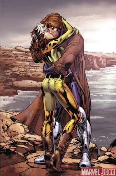 Rogue & Gambit - rogue-and-gambit photo