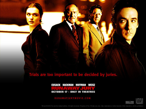 John Cusack wallpaper with a business suit and a suit called Runaway Jury