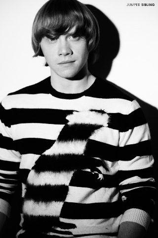 Rupert Grint wallpaper possibly with a jersey entitled Rupert (Drama Magazine)
