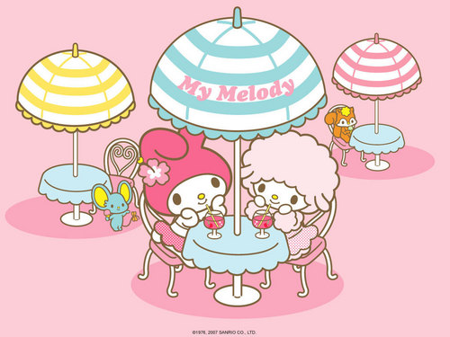 Sanrio wallpaper possibly with anime entitled Sanrio