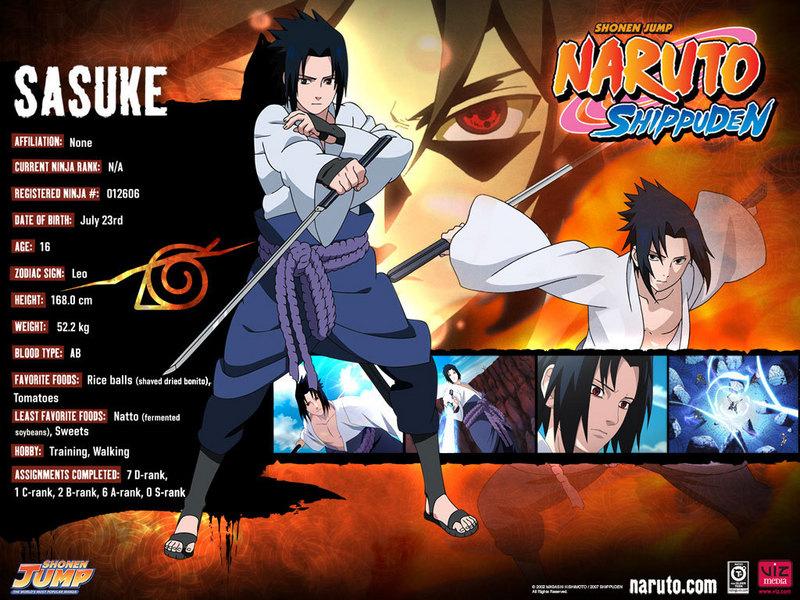 naruto shippuden wallpaper sasuke. Sasuke - Naruto Shippuuden