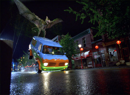 映画 壁紙 entitled Scooby-Doo 2: Monsters Unleashed