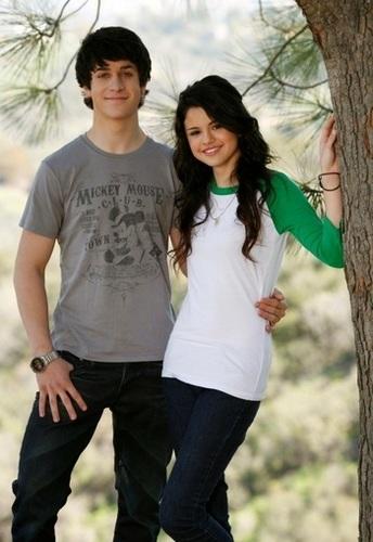 Selena Gomez & David Henrie