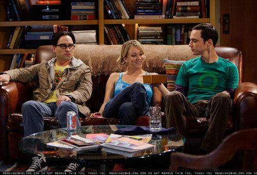 Sheldon and Penny promo stills(3x03)
