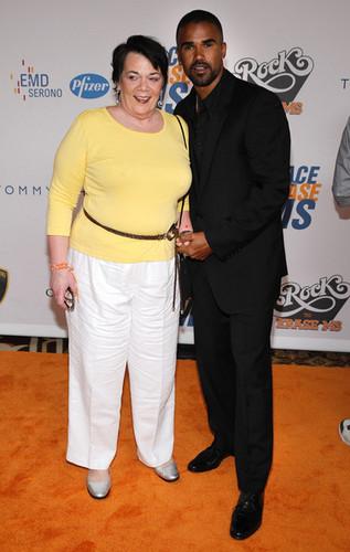 Shemar and his mom