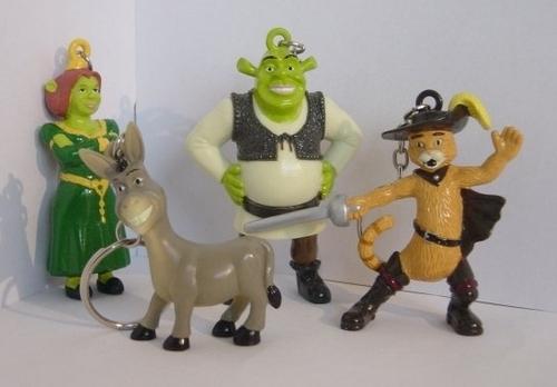Shrek Keychains