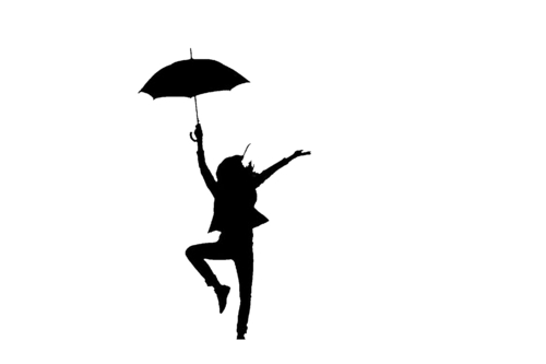 Anything wallpaper containing a parasol called Silhouette