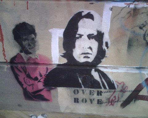 Snape grafifti (in Newtown)
