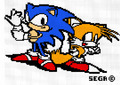 Sonic & Tails in pixel