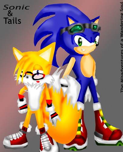 刺猬索尼克 壁纸 called Sonic and teen Tails