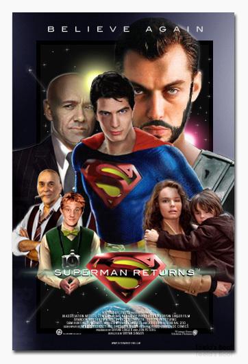 Superman Returns fan posters - Superman Returns Fan Art
