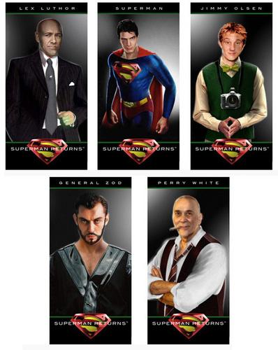 슈퍼맨 Returns 팬 posters