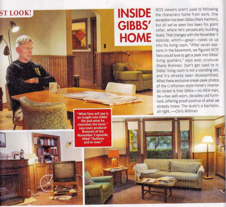 TV Guide Gibbs' House