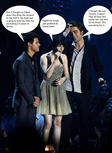 Taylor, Kristen and Rob - funny
