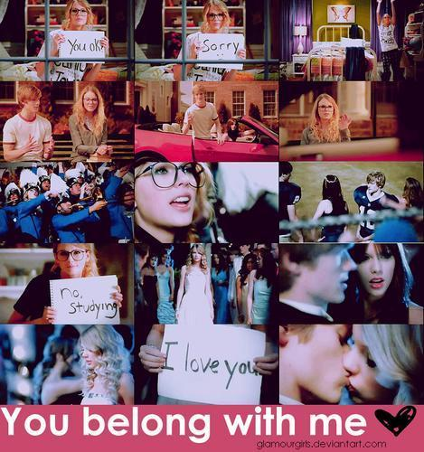 Taylor rapide, swift - toi Belong With Me