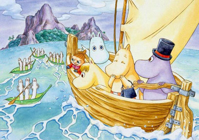 The moomins - 80s-and-90s-uk-childrens-television Photo
