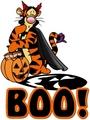 Tigger Хэллоуин Boo!