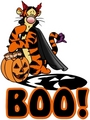 Tigger ハロウィン Boo!