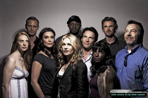 True Blood Cast picha Shoot