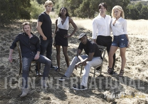 True Blood Cast foto Shoot