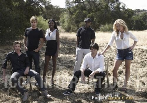 True Blood Cast 사진 Shoot
